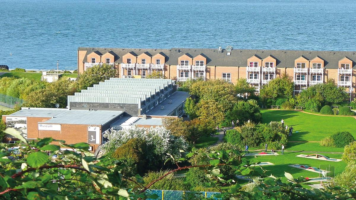 View of the hotel Land & Meer Heligoland